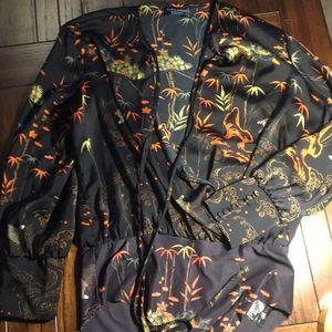 Zara Silky Bodysuit